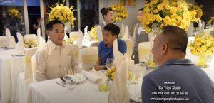 Tiệc thôi nôi của con ông chủ dệt may Thái Tuấn