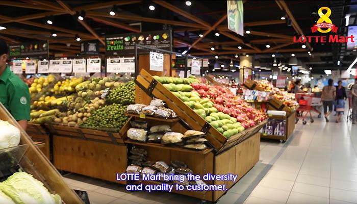 Quay phim và làm video clip giới thiệu doanh nghiệp siêu thị Lotte Mart