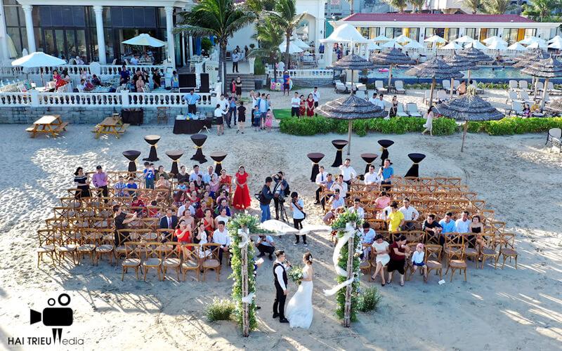 Quay phim chụp hình bằng flycam đám cưới ở Phan Thiết