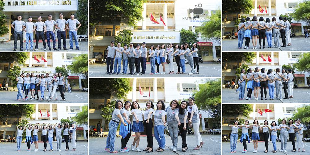 Họp mặt kỷ niệm 20 năm ngày ra trường Bùi Thị Xuân, lớp A6 khóa 1995-1998 – Tờ thứ 11 của quyển album