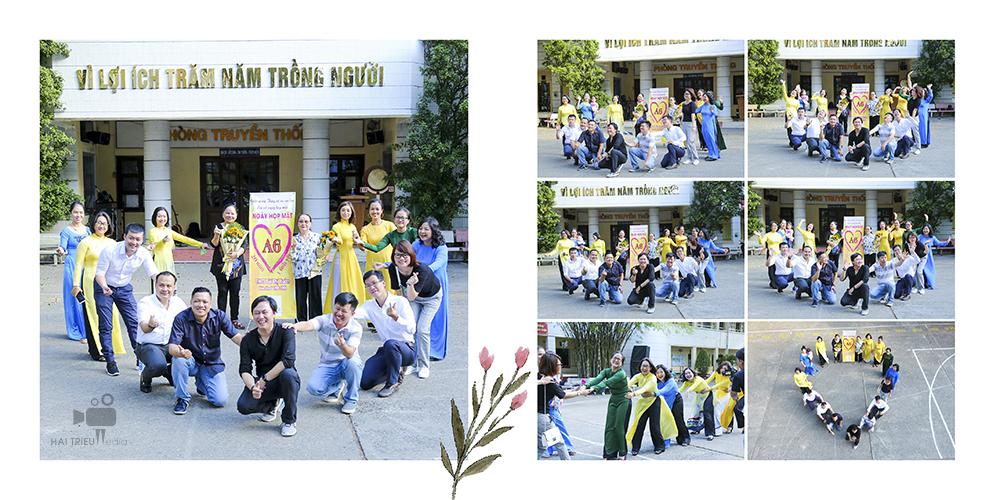 Quay phim chụp ảnh bằng flycam – Họp mặt kỷ niệm 20 năm ngày ra trường Bùi Thị Xuân, lớp A6 khóa 1995-1998 – Tờ thứ 5 của quyển album