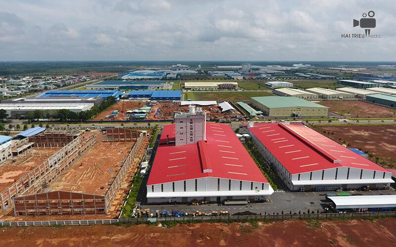 Dịch vụ chụp hình bằng flycam giới thiệu công ty cổ phần xây dựng Trung Hậu Group
