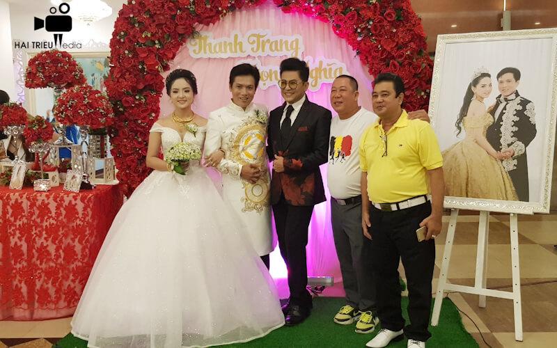 Quay phim chụp hình đám cưới tại tphcm
