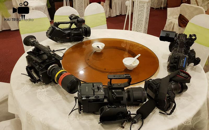 Thiết bị quay phim chụp hình cưới hỏi, sinh nhật tại tphcm