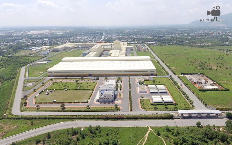 Dịch vụ chụp ảnh bằng flycam cho Công Ty Cổ Phần China Steel & Nippon Steel Việt Nam (CSVC)