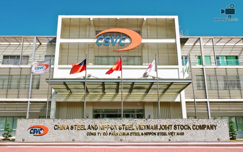 Công Ty Cổ Phần China Steel & Nippon Steel Việt Nam (CSVC) được thành lập dựa trên cơ sở liên doanh giữa tập đoàn China Steel (CSC) của Đài Loan và Tập đoàn Nippon Steel (NSC) của Nhật Bản