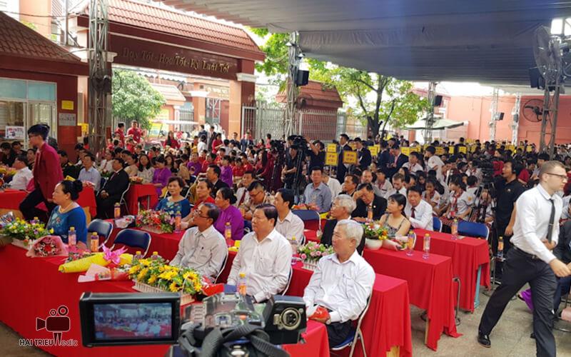 Dịch vụ livestream quay và phát video trực tiếp sự kiện facebook chuyên nghiệp tại tphcm - Lễ kỷ niệm ngày nhà giáo Việt Nam - Tập Đoàn Giáo Dục Quốc Tế Nam Việt